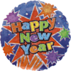 New Year Foil Balloons overview