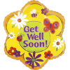 Get Well Soon Foil Balloons overview