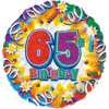65th Birthday overview