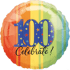 """18"""" A Year to Celebrate 100 Balloon overview"""