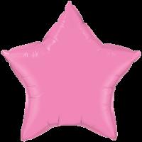 "20"" Custom Printed Rose Star Foil Balloons"