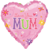 Mothers Day Foil Balloons overview
