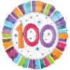 100th Birthday Foil Balloons overview
