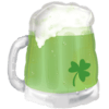 St. Patty's Green Beer Mug product link