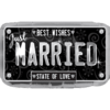 Just Married License Plate product link