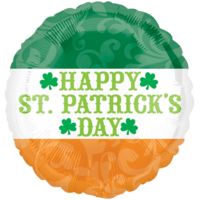 "18"" St Patricks Irish Flag Balloon"
