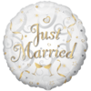 "18"" Just Married Circle Foil product link"