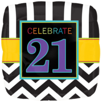 "18"" Celebrate 21st Balloon"