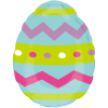 Easter Egg Stripes & Chevrons product link