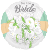 "18"" For The Bride Floral Standard Foil Balloo product link"