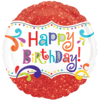 """18"""" Happy Birthday Sparkle Foil Balloons product link"""