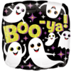 "18"" Boo-ya Ghosts Standard Foil Balloon product link"