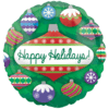 "18"" Holiday Ornaments Standard Foil Balloon product link"