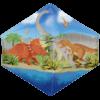 "21"" Dino World Anglez Ultrashape Foil Balloon product link"