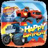 "18"" Blaze Happy Birthday Foil Balloon overview"