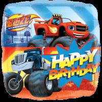 "18"" Blaze Happy Birthday Foil Balloon"