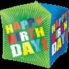 "15"" Birthday Bursts Cubez Foil Balloon product link"