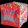 "15"" Happy Words Happy Birthday Cubez Foil Bal product link"
