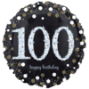 Black & Gold 100th Birthday product link