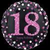 "18"" Happy Birthday Pink Celebration Prismatic product link"