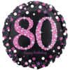 Black & Pink 80th Birthday product link