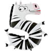"""Zooloon 40"""" Number 5 Zebra product link"""