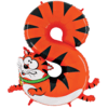 """Zooloon 40"""" Number 8 Cat product link"""
