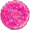 "18"" Flowers Mothers Day Balloon overview"