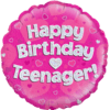 Happy Birthday Teenager Pink Holographic product link