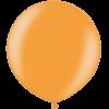 3 Foot Metallic Bright Orange Latex Balloon overview