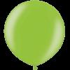 3 Foot Metallic Lime Green Latex Balloon overview