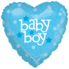Baby Blue Heart  product link