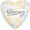 Happy Anniversary Silver and Gold product link
