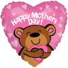"18"" Big Hug Mothers Day Bear Balloon overview"