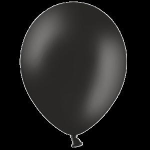 "12"" Black Balloons"