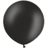 2ft Black Giant Balloons overview