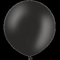 2ft Black Giant Balloons