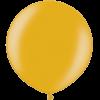 2ft Metallic Gold Giant Latex Balloon overview