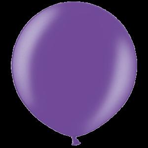 2ft Metallic Purple Giant Latex Balloon