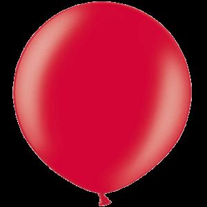 2ft Metallic Cherry Red Giant Latex Balloon