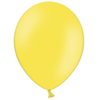 "10"" Yellow Balloons"