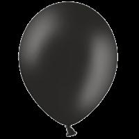 "10"" Black Balloons"