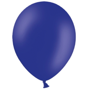 "10"" Night Blue Balloons"