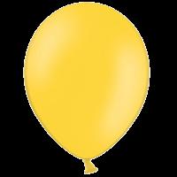 "10"" Bright Yellow Balloons"