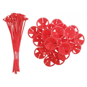 Red Balloon Sticks - 1 Piece Product Display