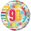 "18"" Unisex Happy 90th Birthday product link"