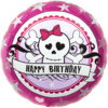 """Birthday Skully Pink 18"""" product link"""