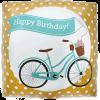 "18"" Birthday Bike Banner Foil Balloon product link"