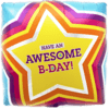 """18"""" Awesome Birthday Foil Balloon product link"""