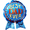"""29"""" Best Dad Ever Foil Balloon product link"""